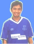 Me in Everton Jersey